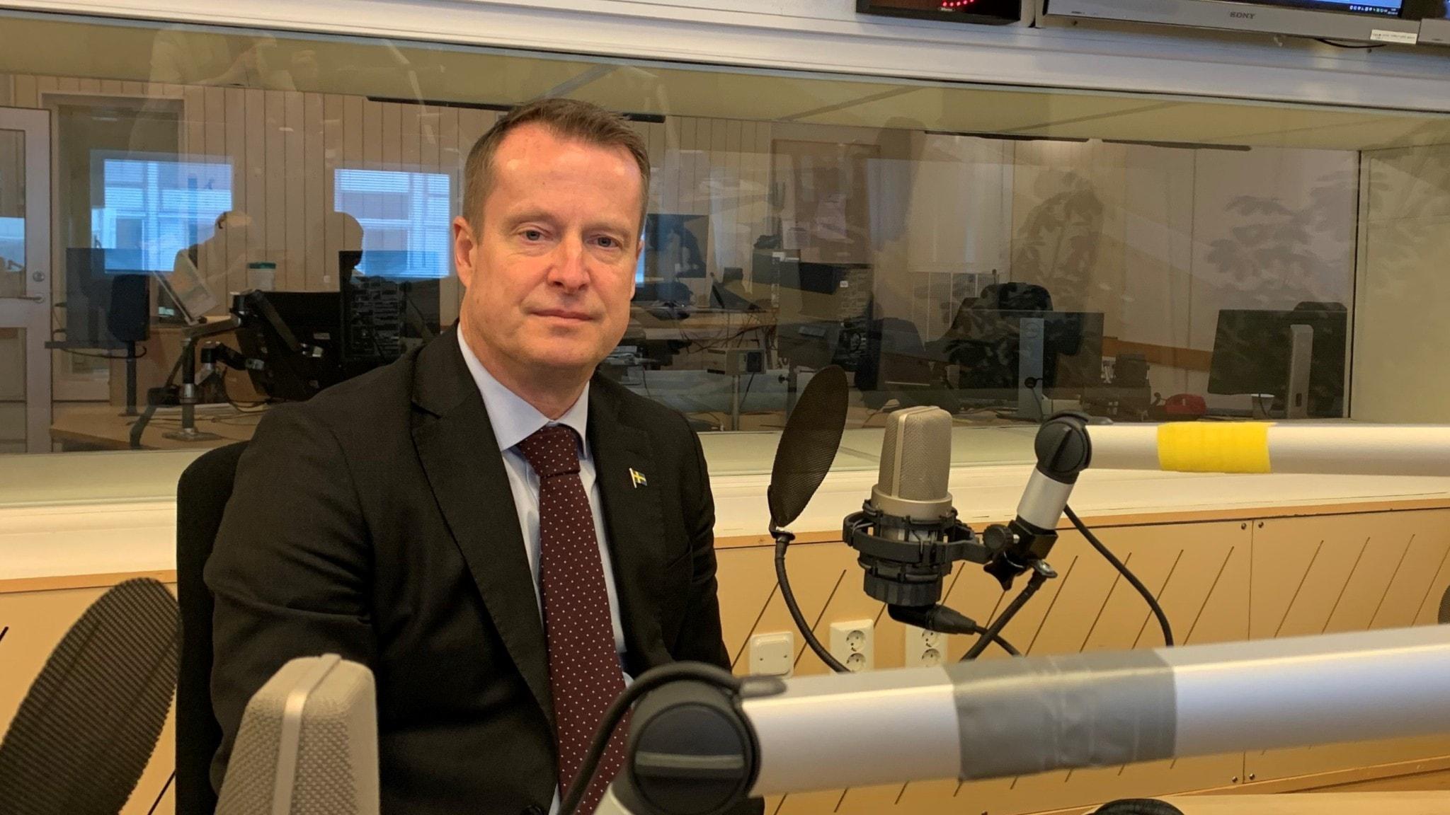 Ekots lördagsintervju med Anders Ygeman (S)