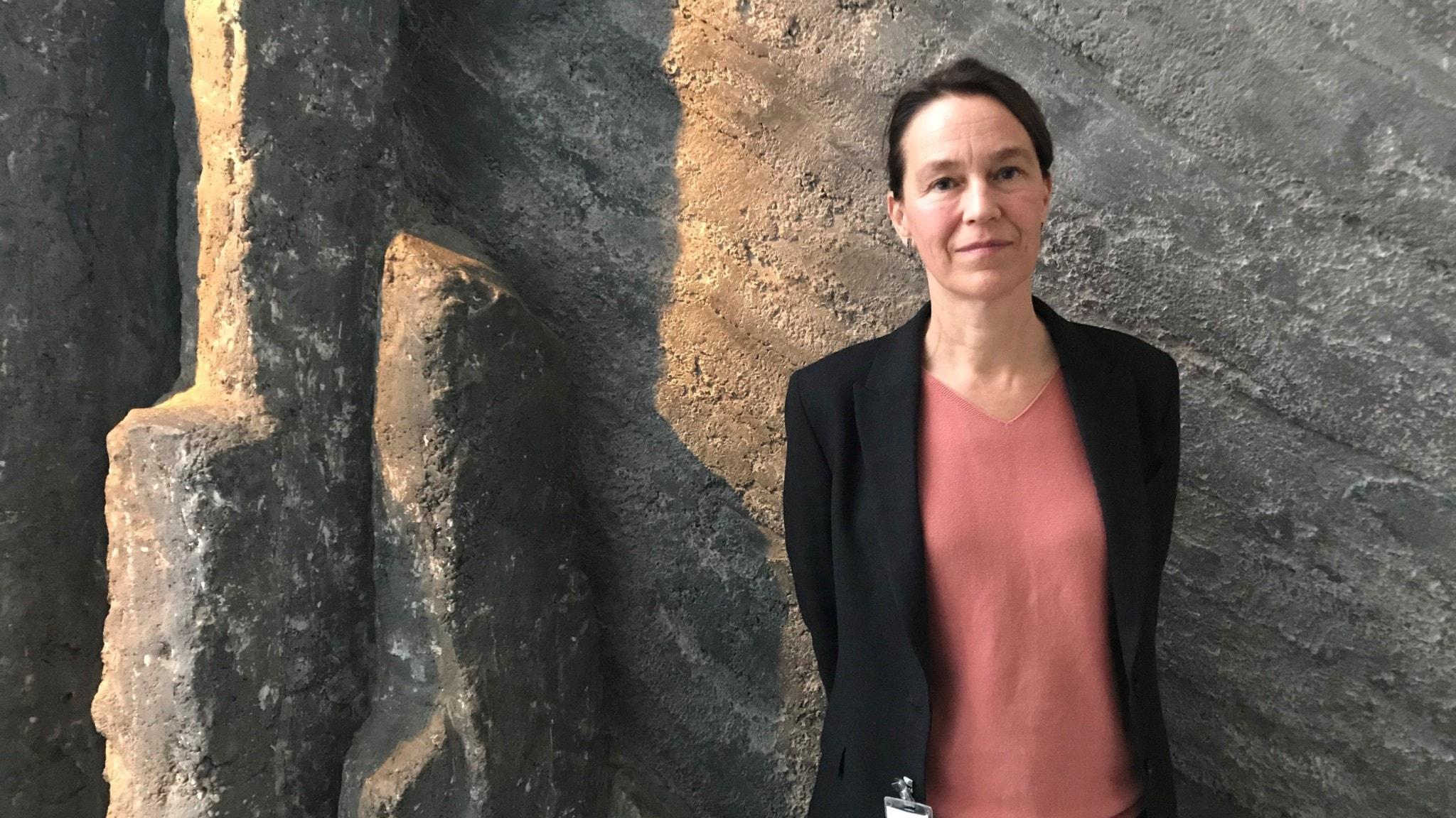 Olivia Wigzell, chef för Socialstyrelsen.