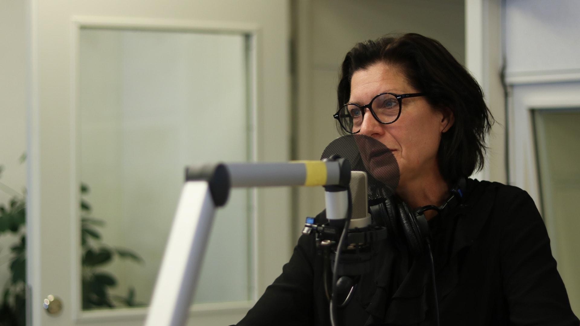 Ekots lördagsintervju med Maria Groop Russel, vd Dramaten