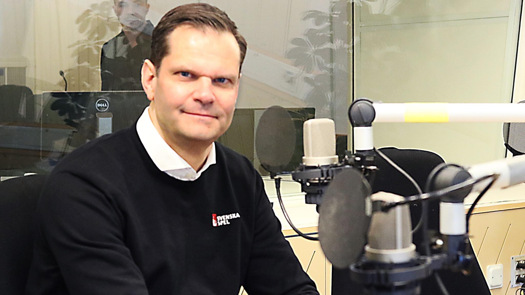 Patrik Hofbauer, vd för Svenska Spel