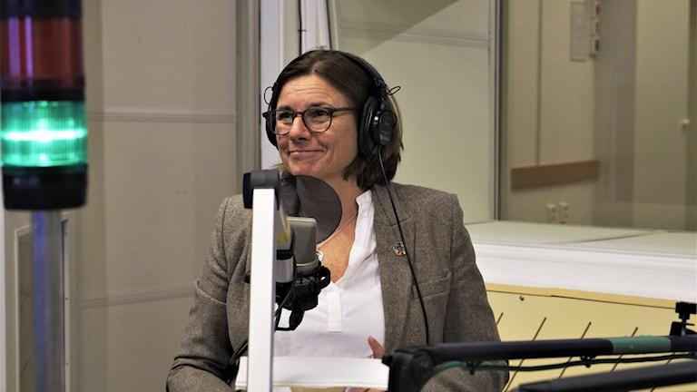 Isabella Lövin, avgående språkrör för Miljöpartiet