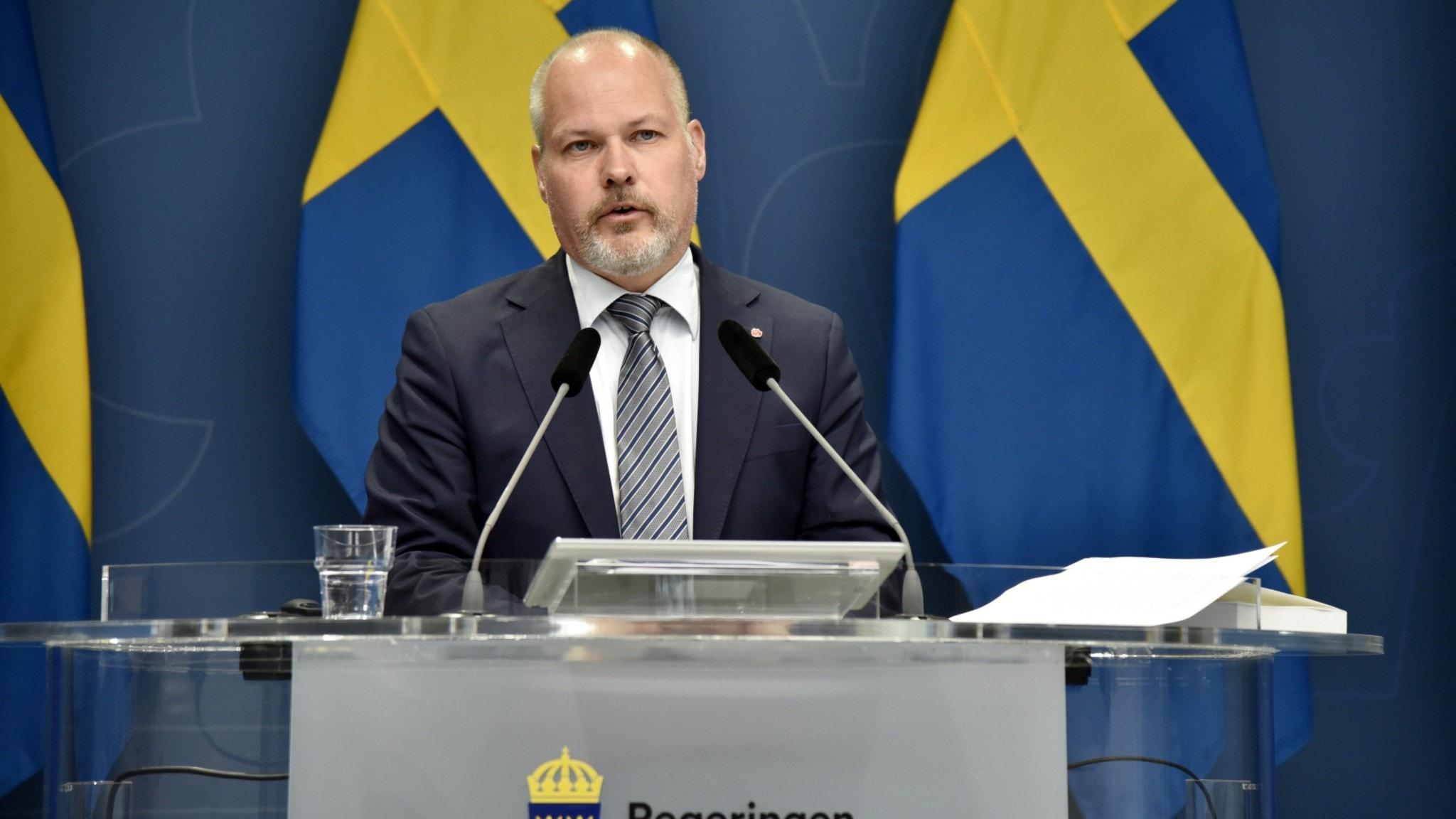 Justitieminister Morgan Johansson