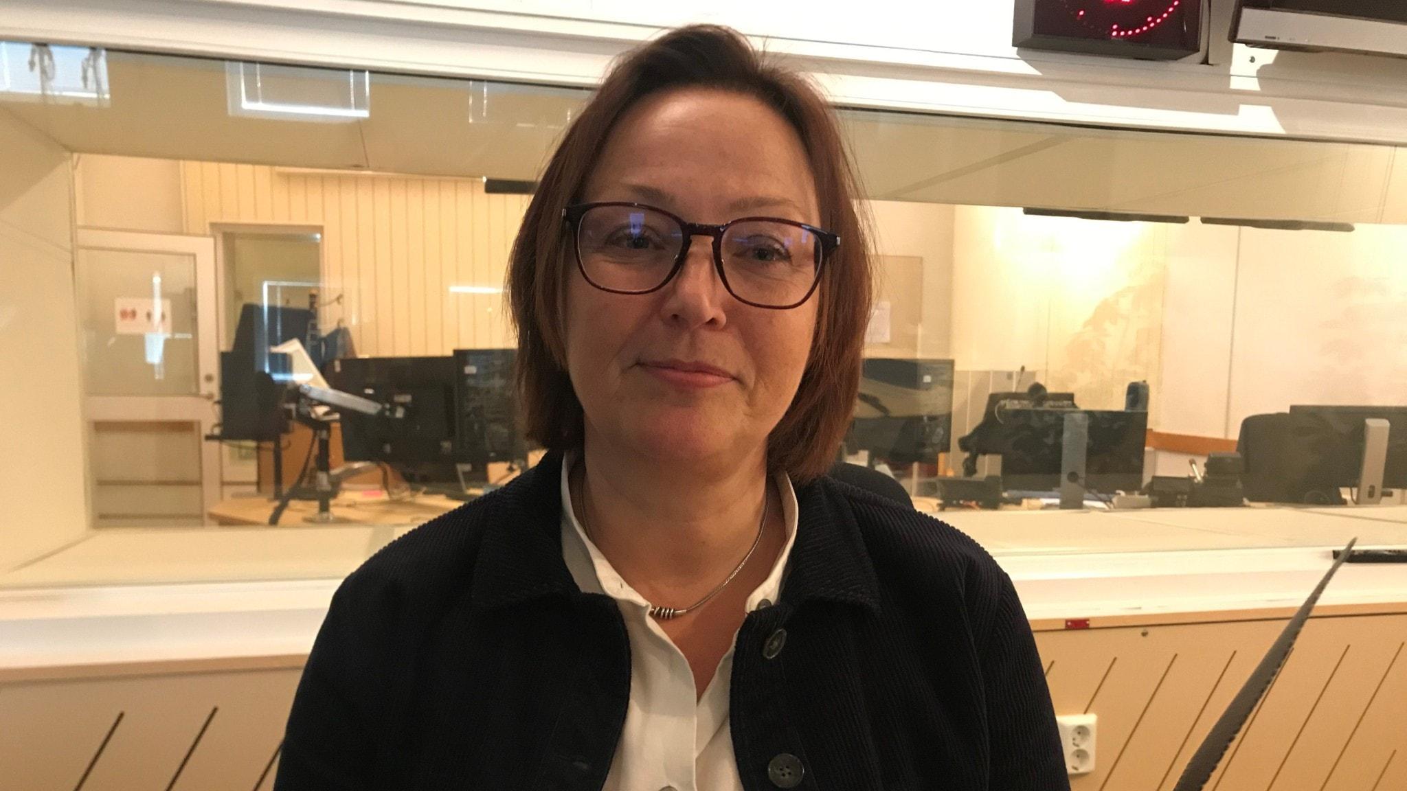 Camilla Asp är vikarierande generaldirektör på MSB.