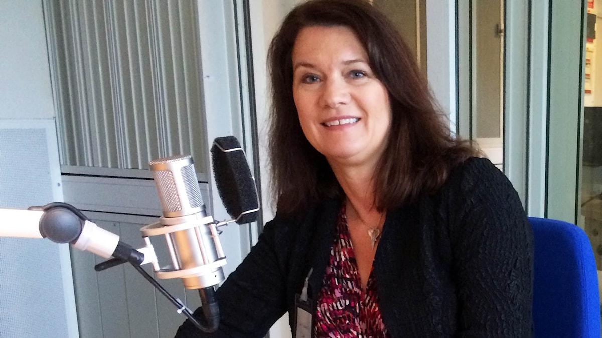 Ann Linde EU-minister lördagsintervjun
