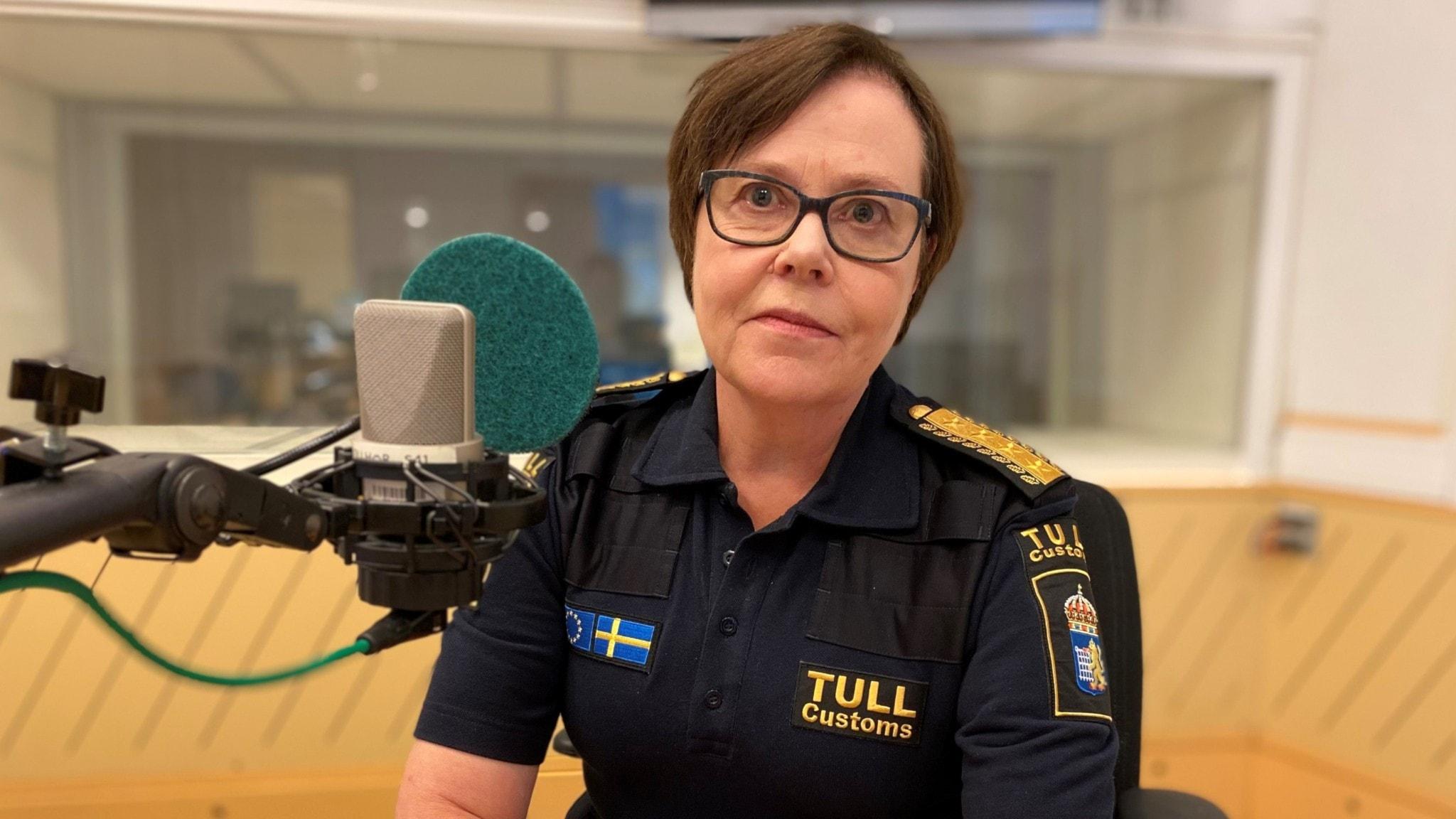 Tullverkets generaldirektör Charlotte Svensson är gäst i Ekots lördagsintervju.
