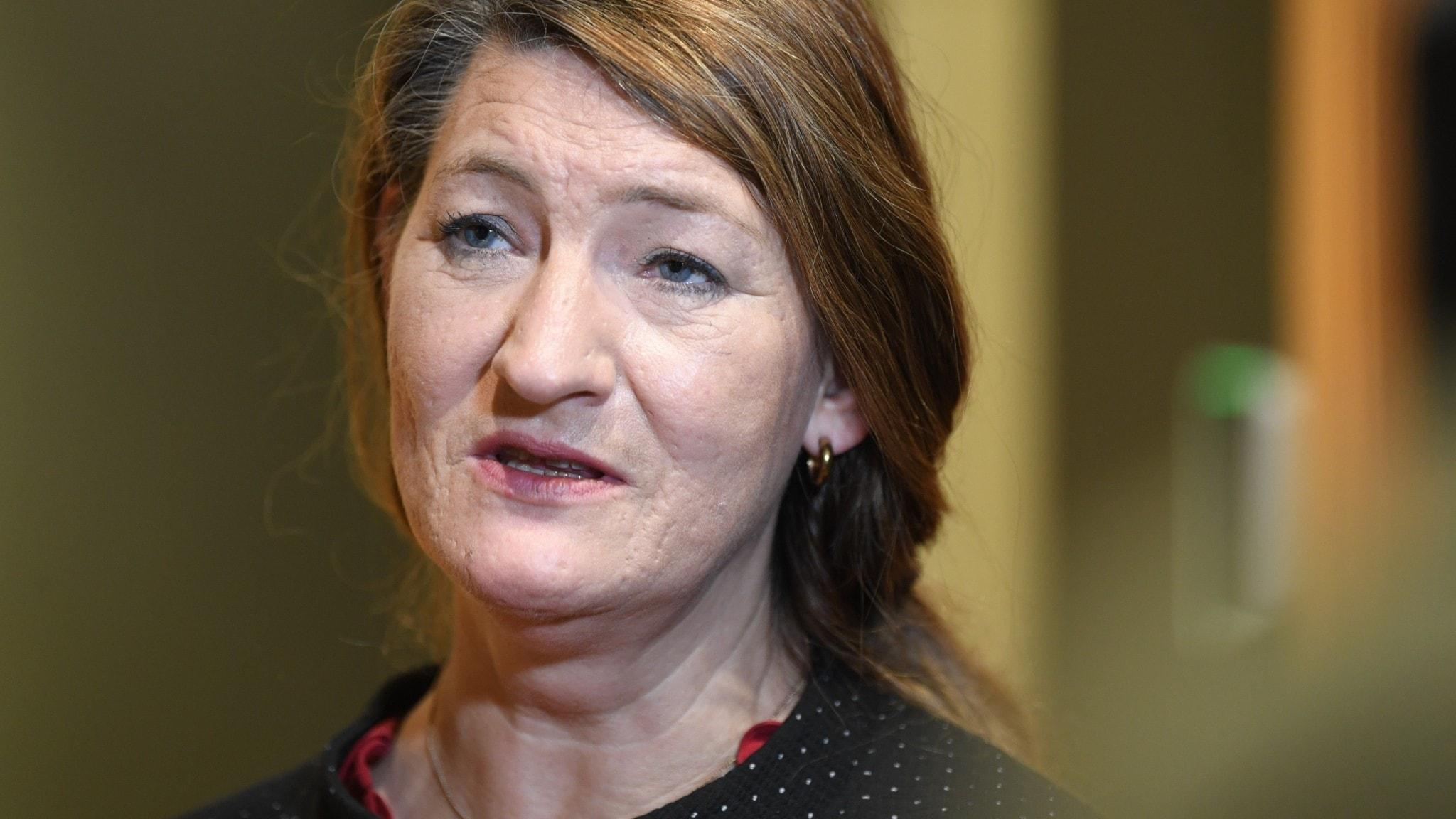 LO:s ordförande Susanna Gideonsson