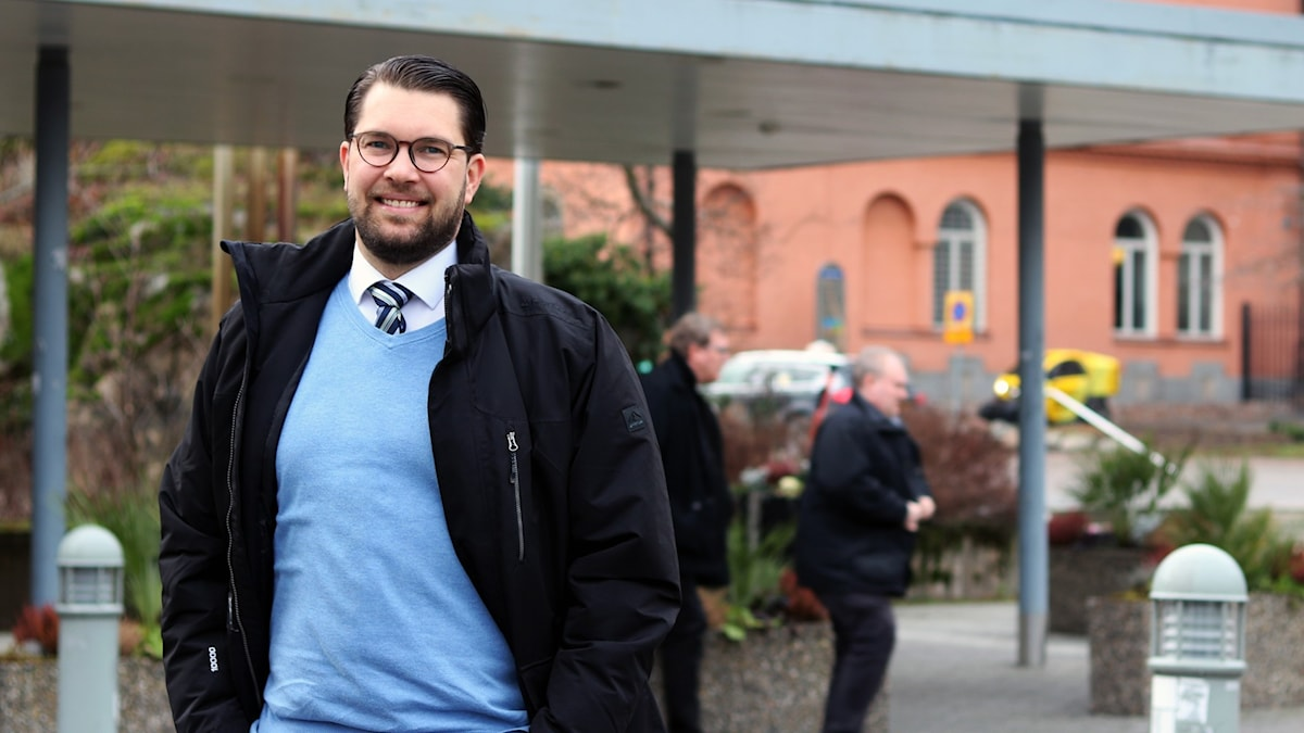 Jimmie Åkesson, gäst i Ekots lördagsintervju