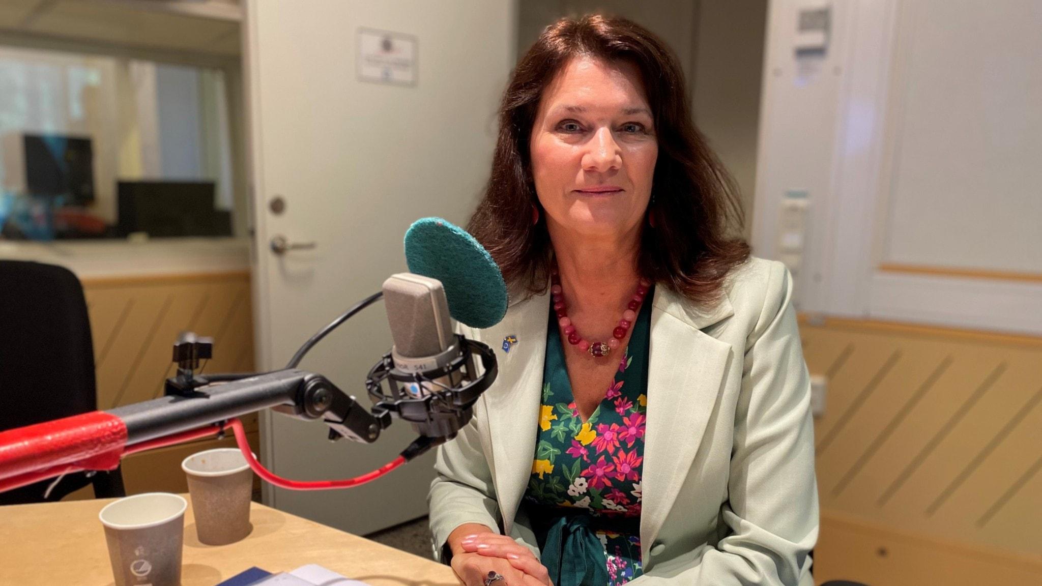 Utrikesminister Ann Linde i Ekots lördagsintervju.