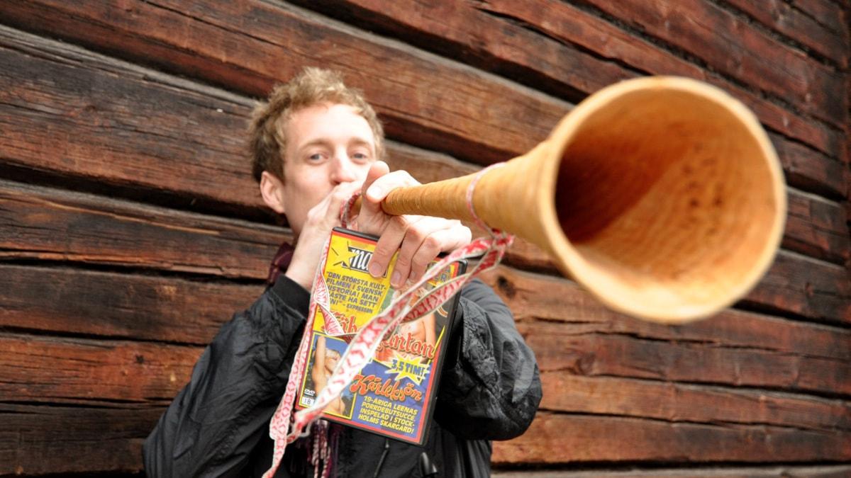 Martin Eriksson, reporter. Foto: Tobias Gruhs/SR