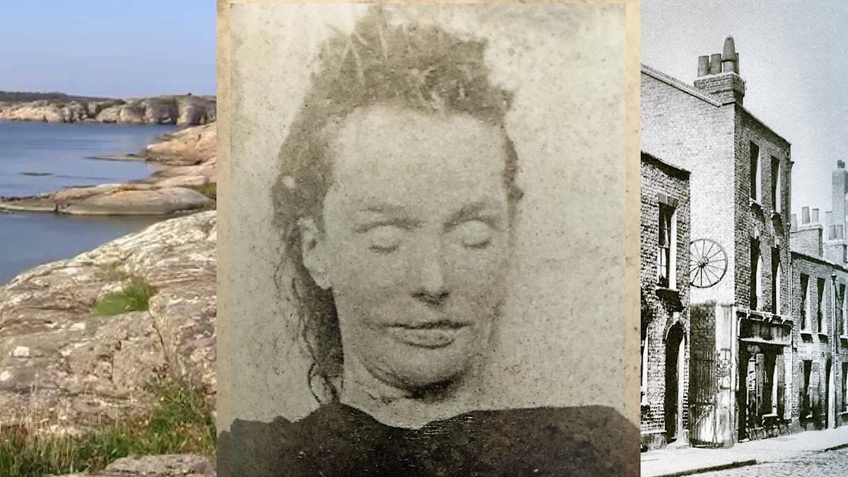 Elisabeth Stride (född Gustavsdotter) från Tumlehed)  - Jack The Rippers tredje offer