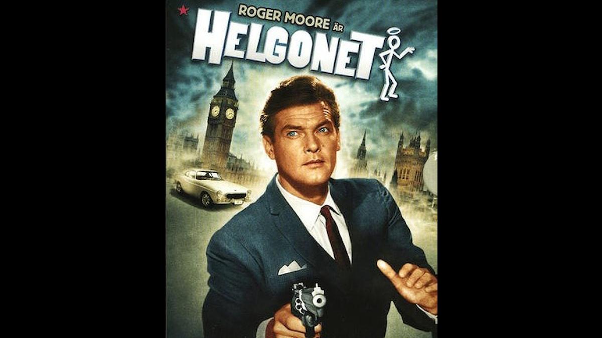 Helgonet, den första stora TV-stjärnan på 60-talet