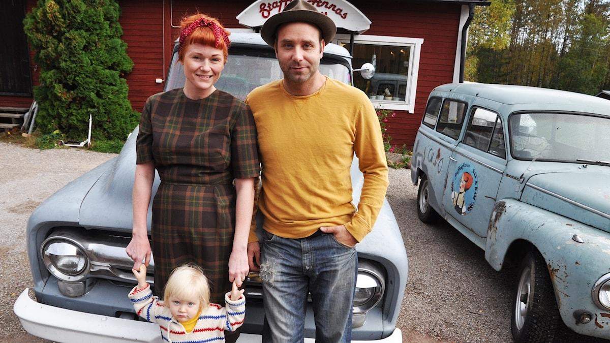 Manne och Annas familj.