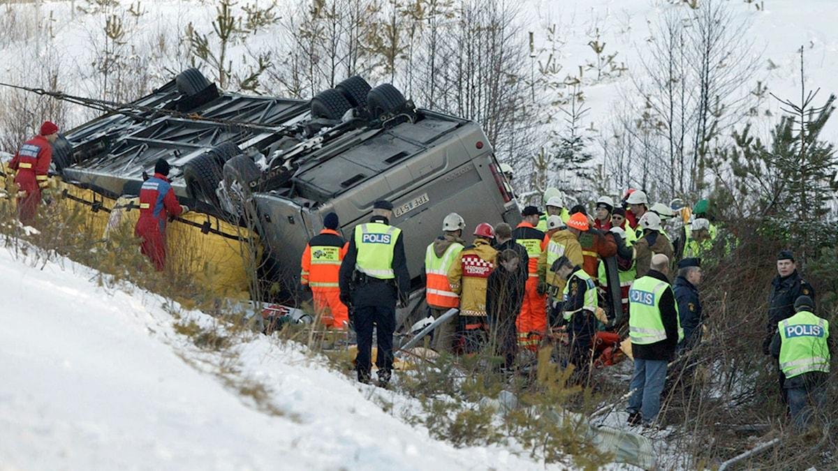 Bussolyckan i Arboga