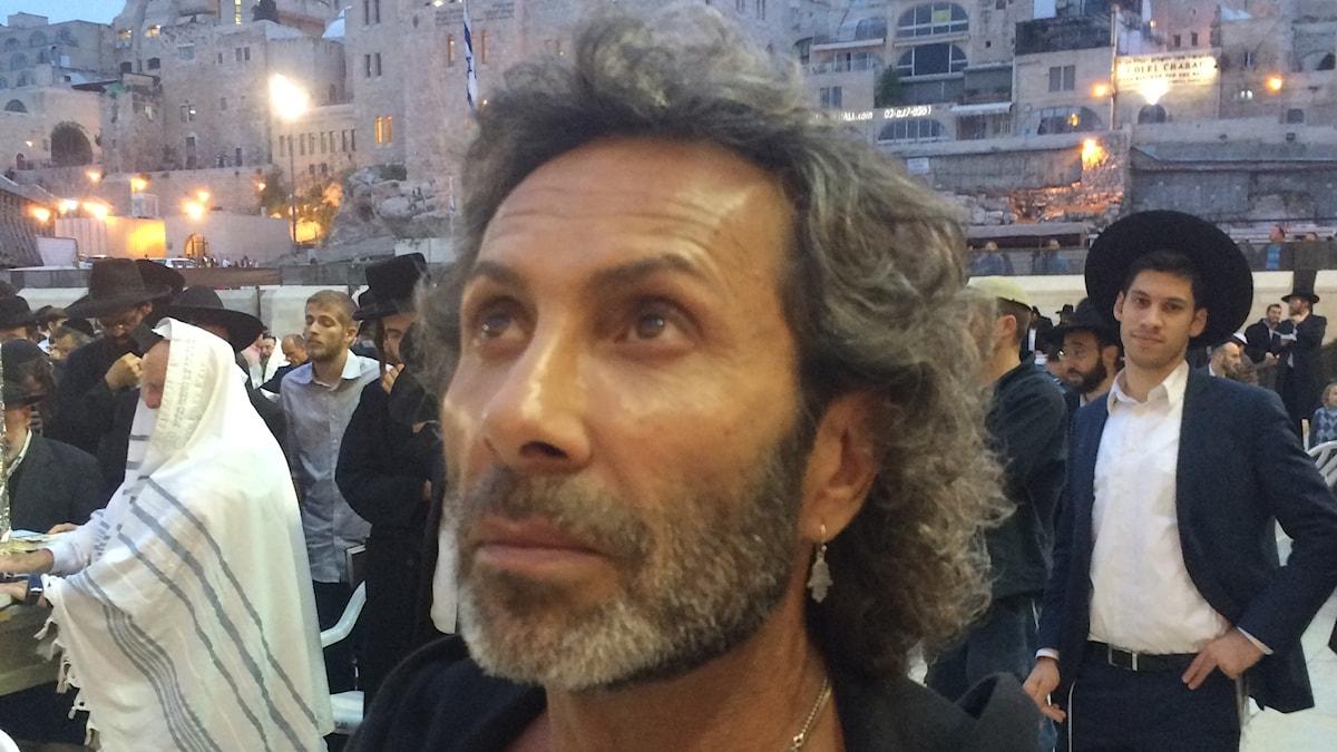 Det enda stället på jorden där Jean.Pierre Barda känner sig hemma är Israel.