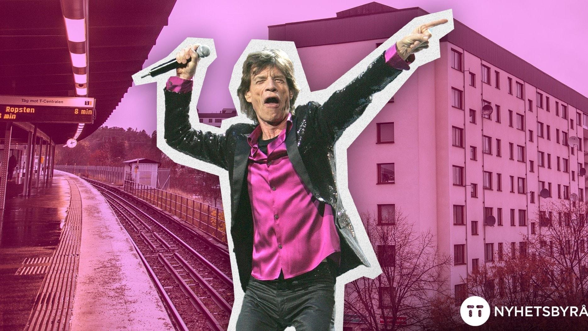Vad gjorde Mick Jagger i Bredäng?