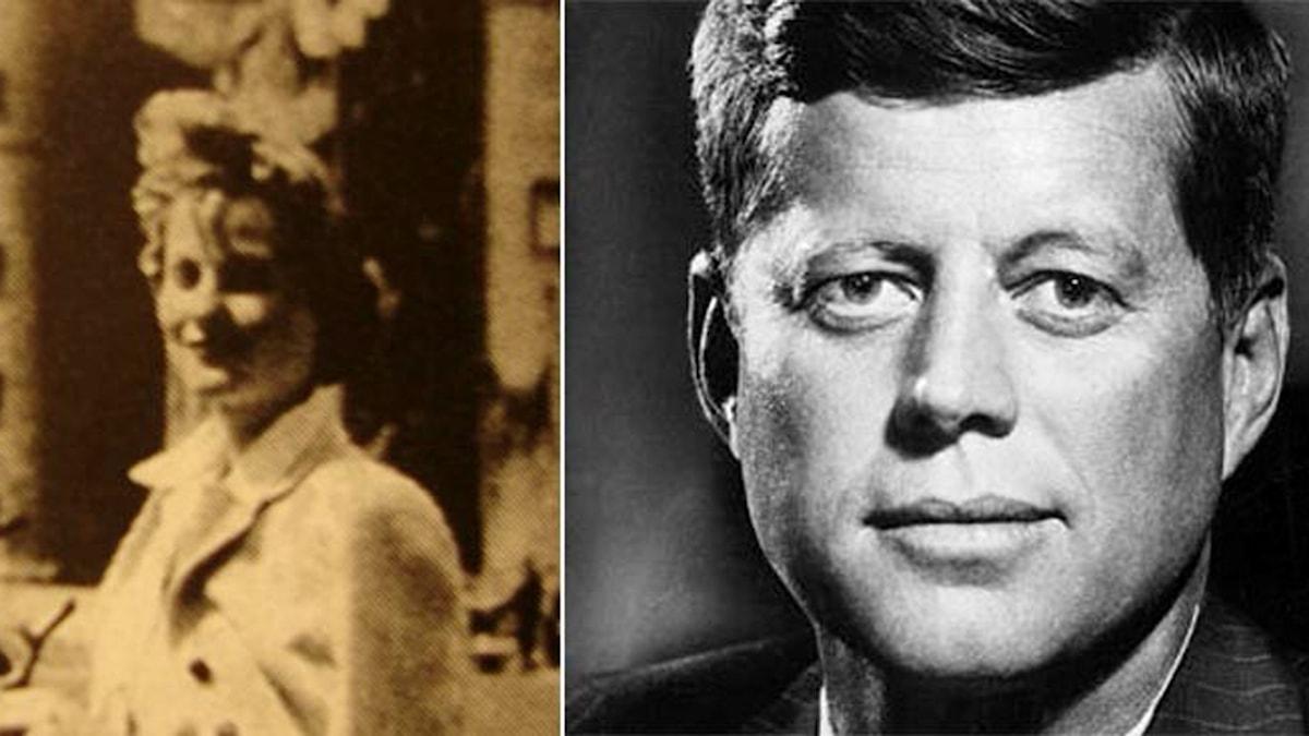 Gunilla och JFK