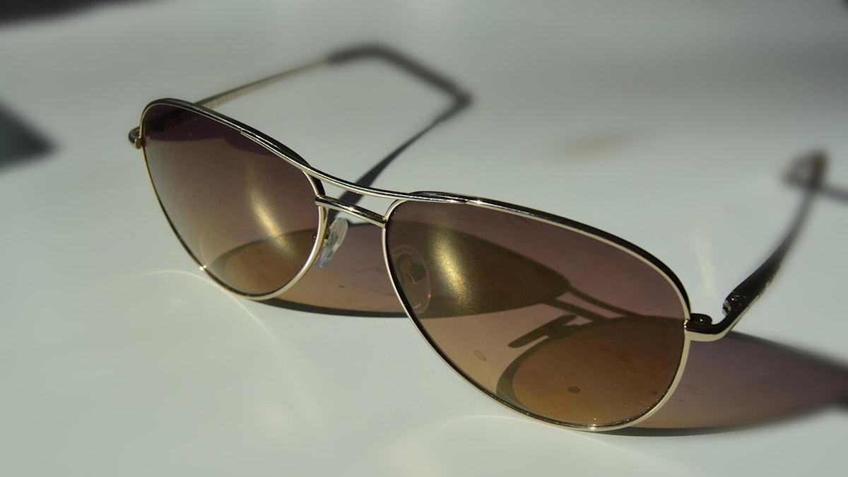 Pilotglasögon.
