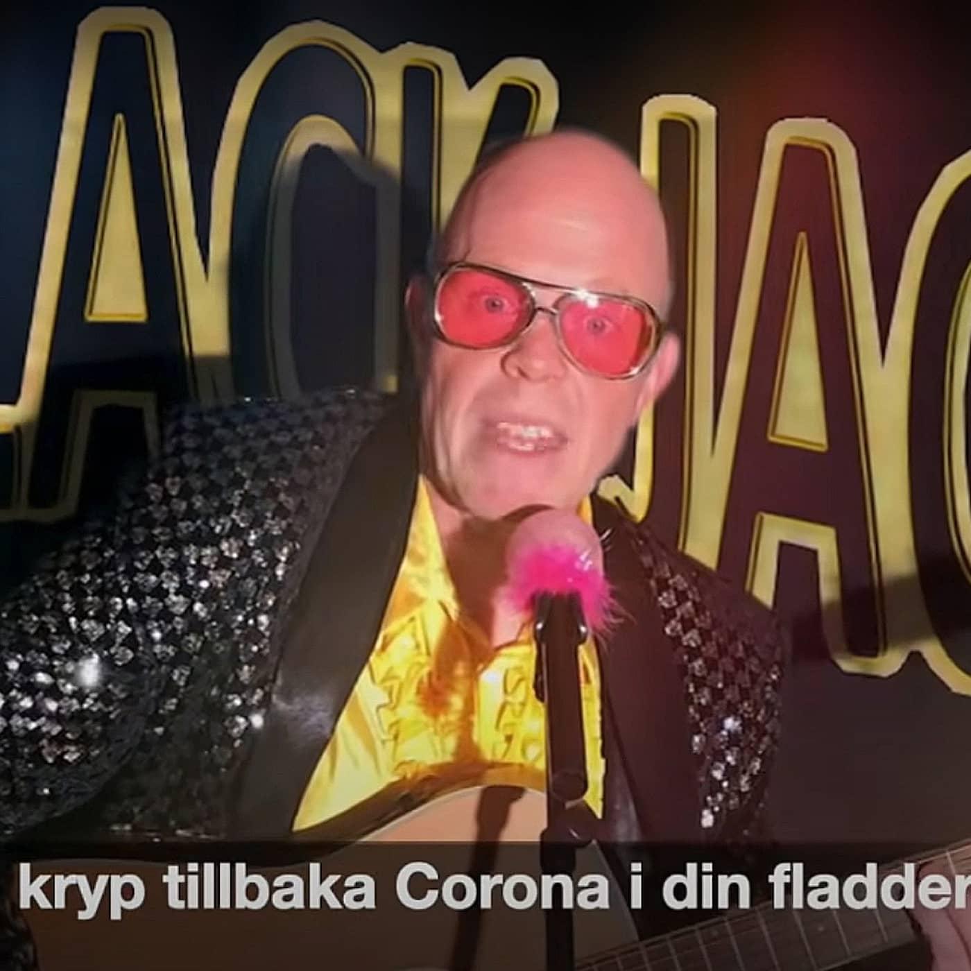 Skrattet mitt i Coronan