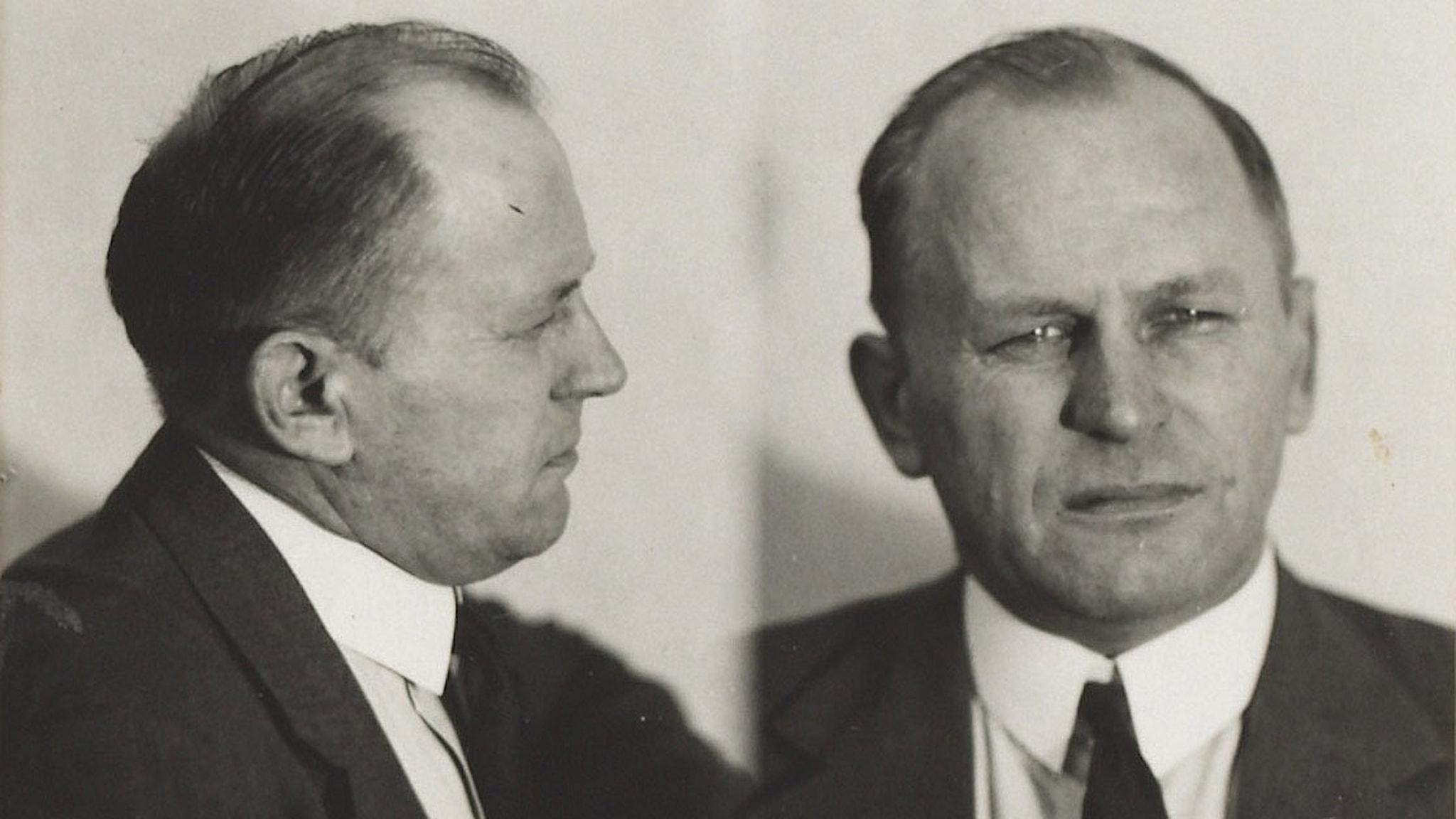 Ivar Olofsson fotograferad av polisen.