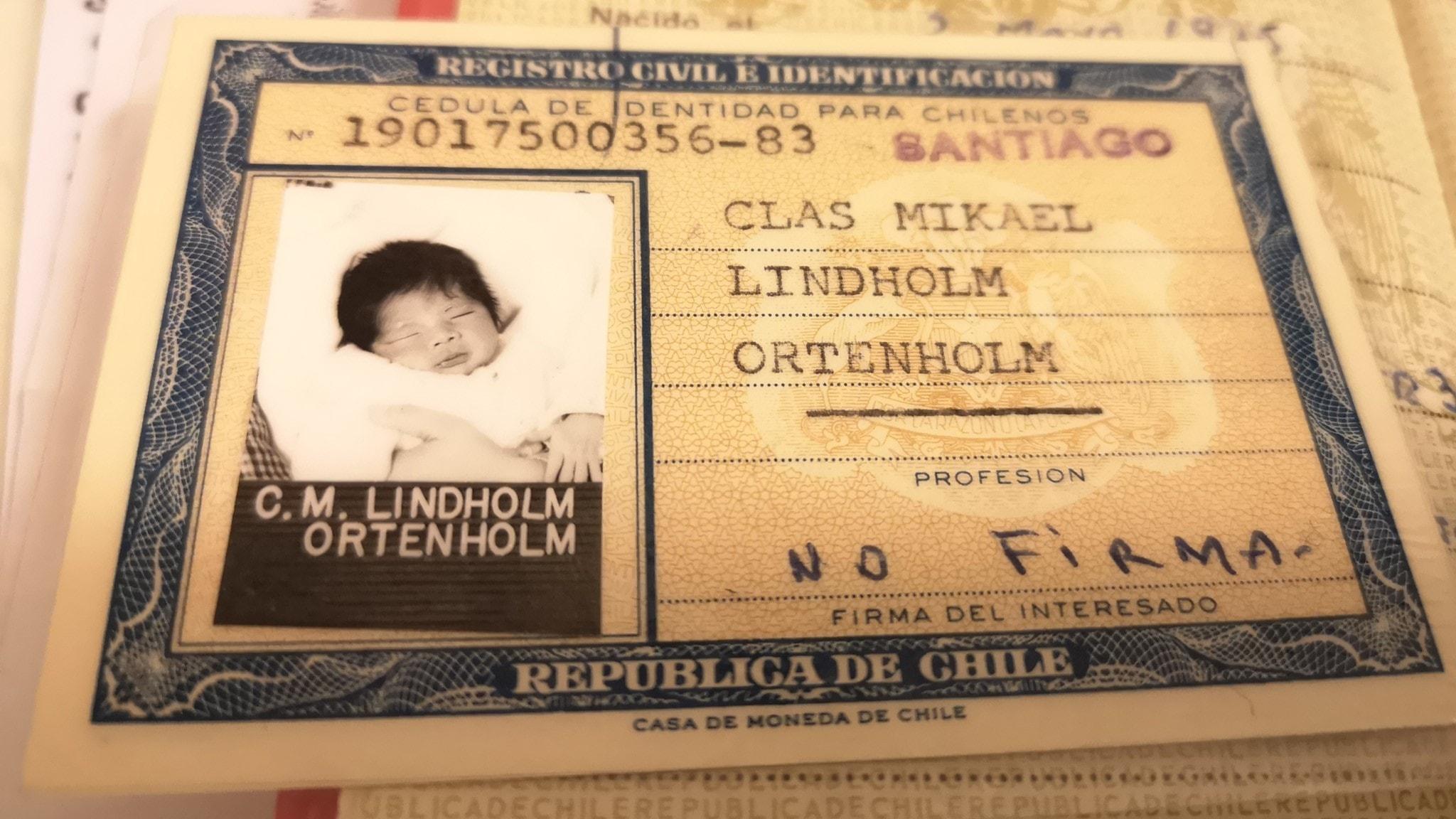 Clas Lindholm upptäckte vid 44-års ålder att han inte övergivits utan stulits.