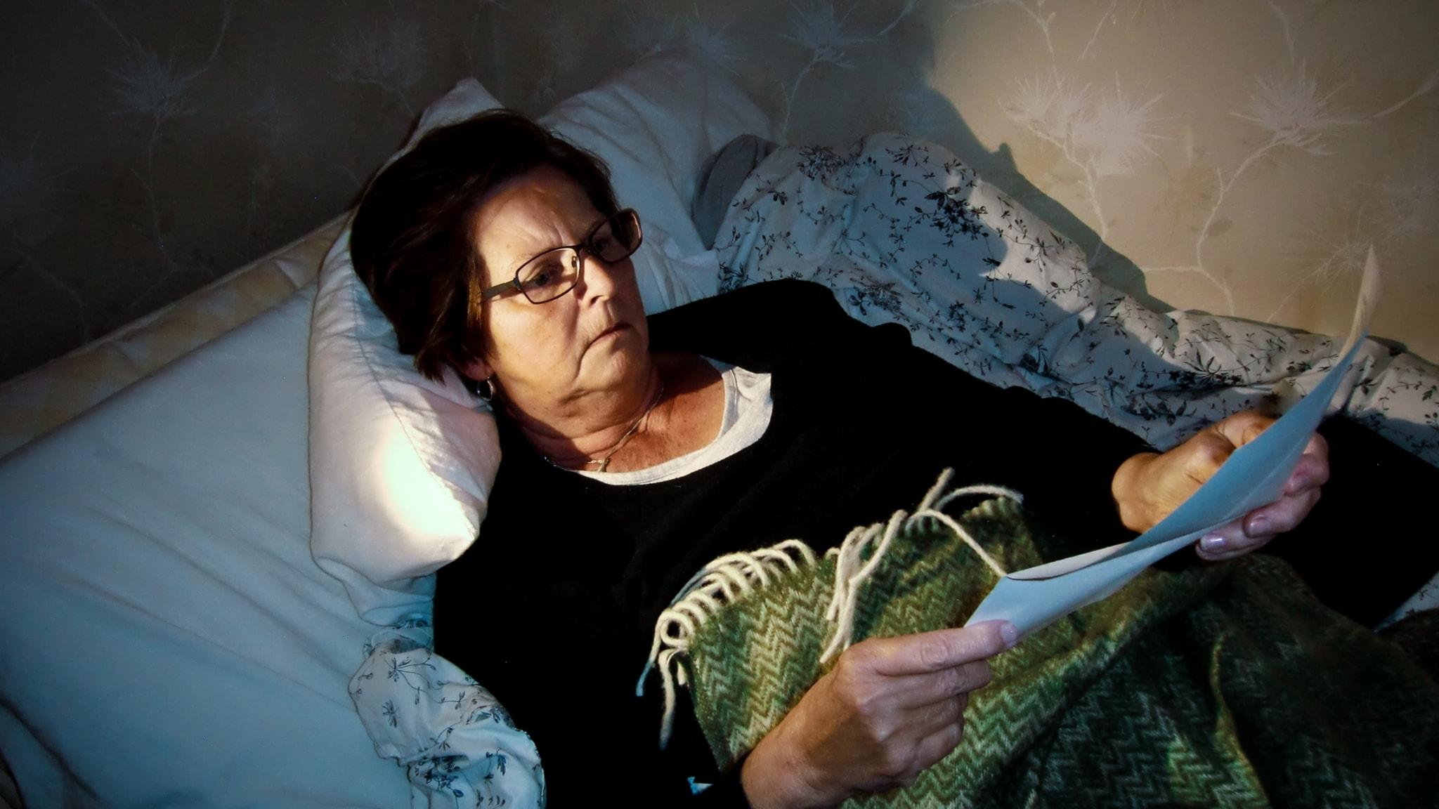 Yvonne slutade att jobba då hon trodde att hon hade alzheimer.