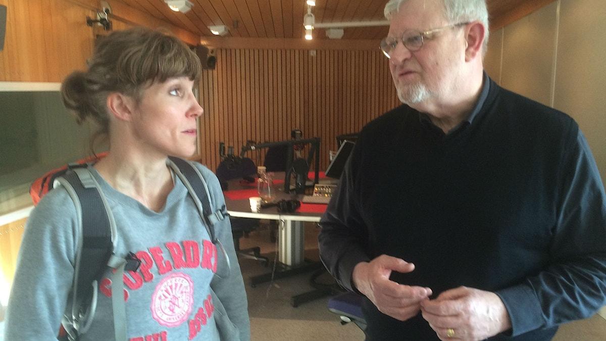 Petra Carlsson och Martin Lind.
