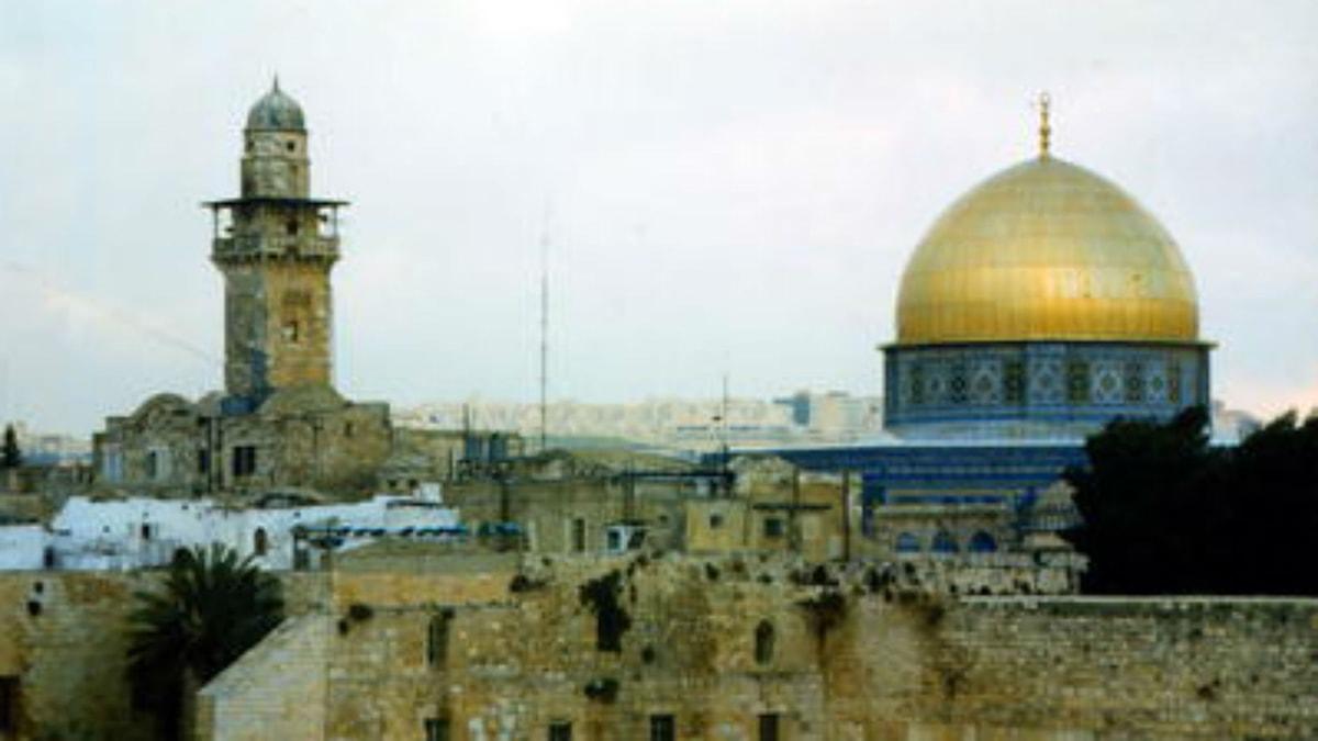 Jerusalem, en helig stad.