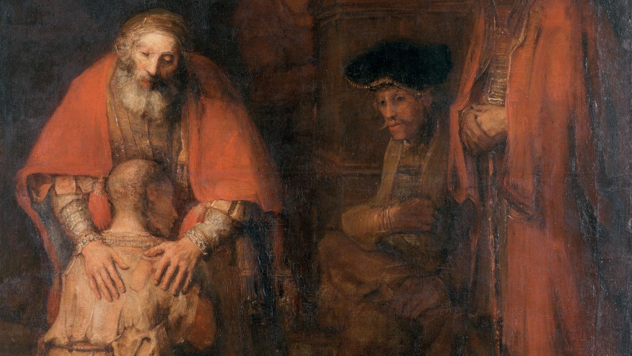 Rembrandts målning Den förlorade sonens återkomst.