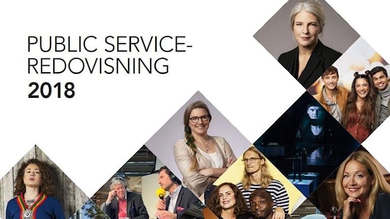 Sveriges Radios public service-redovisning 2018