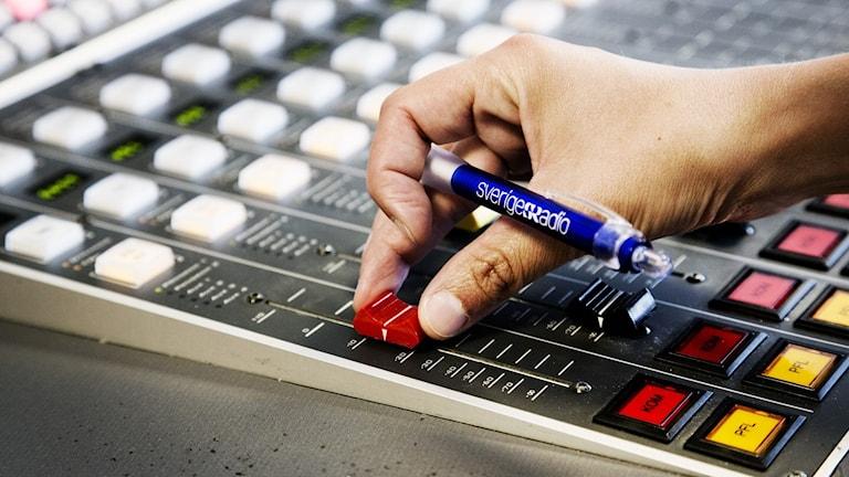 Mixerbord, genrebild. Foto: Mikael Andersson