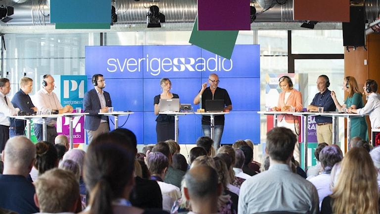 Partiledardebatt i Kulturhuset