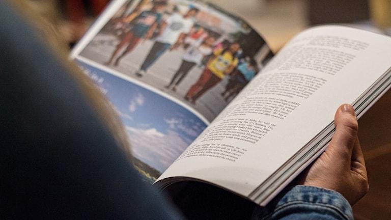Bild på en publikation.