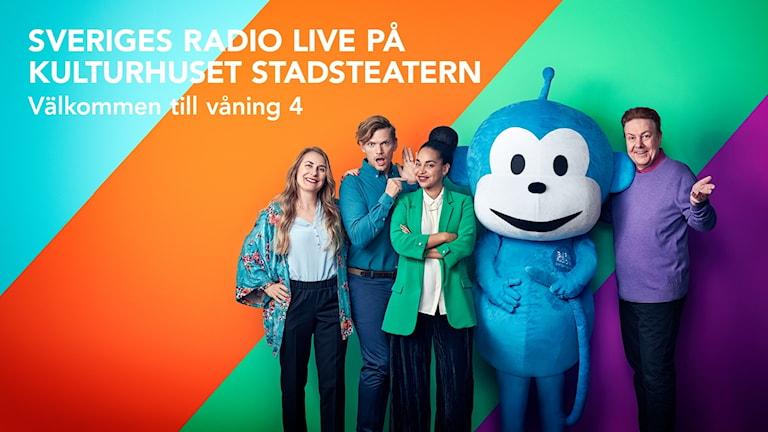Sveriges Radio Live på Kulturhuset Stadsteatern Foto: Mattias Ahlm/Sveriges Radio