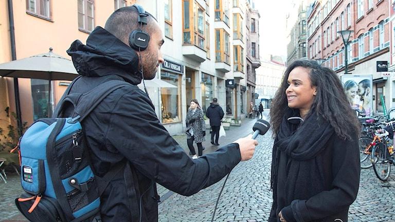 Reportern Dimitri Lennartsson