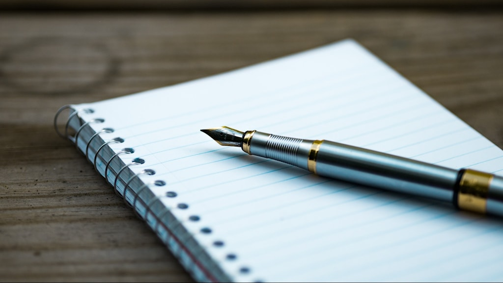 Papper och penna