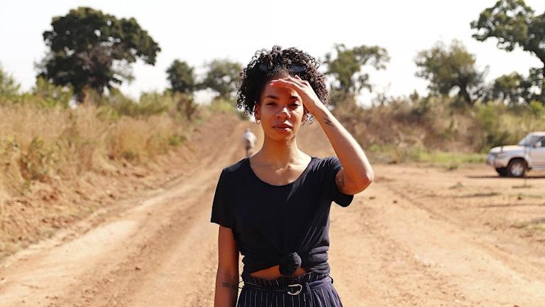 Bild från Janice Kavanders resa till Uganda under Musikhjälpen 2019.