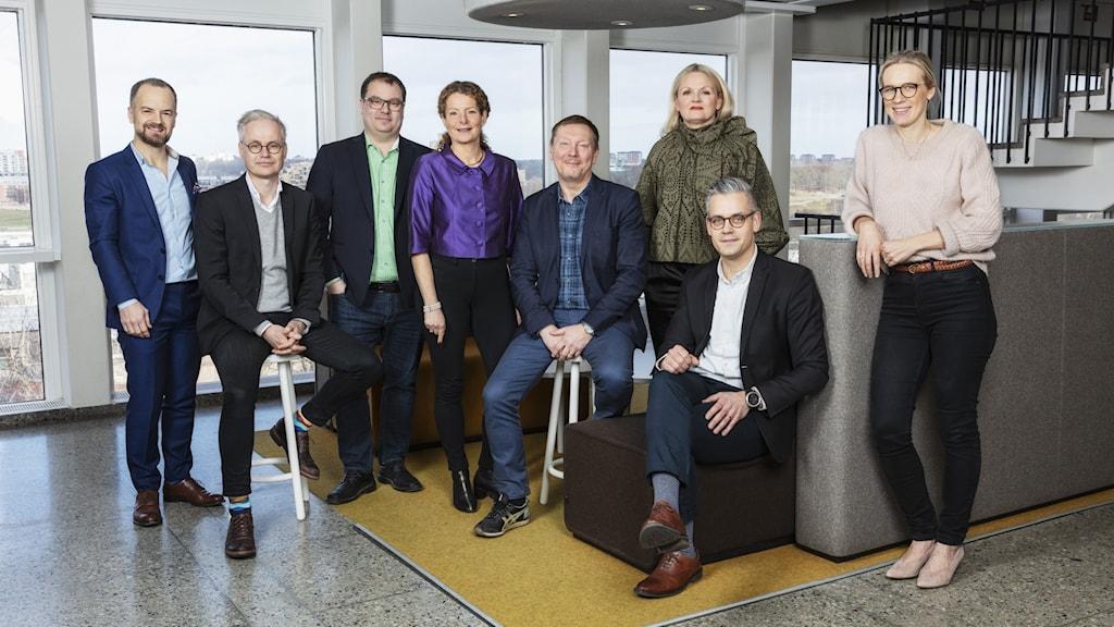 Sveriges Radios företagsledning