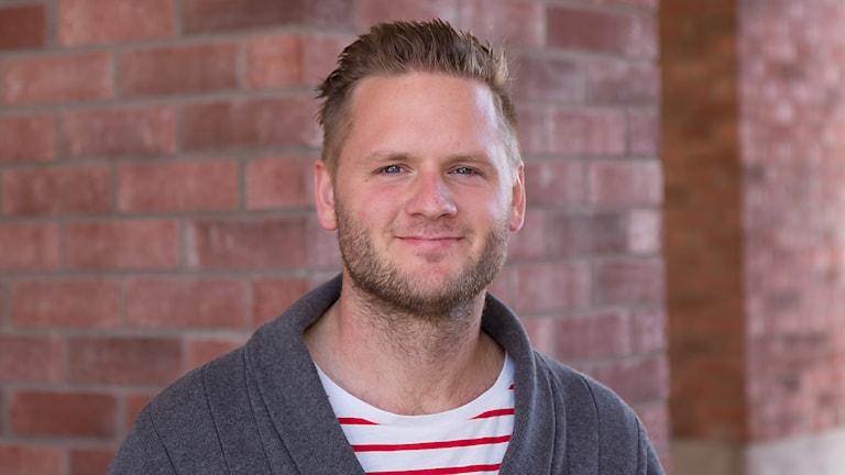 Samuel Sillén, programledare/producent. Foto: Michael Gawell/Sveriges Radio.