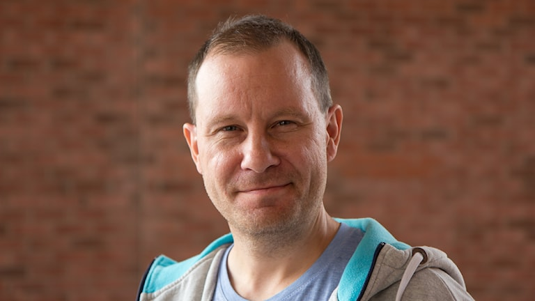 Patrik Åström, reporter/presentatör. Foto: Michael Gawell/Sveriges Radio.