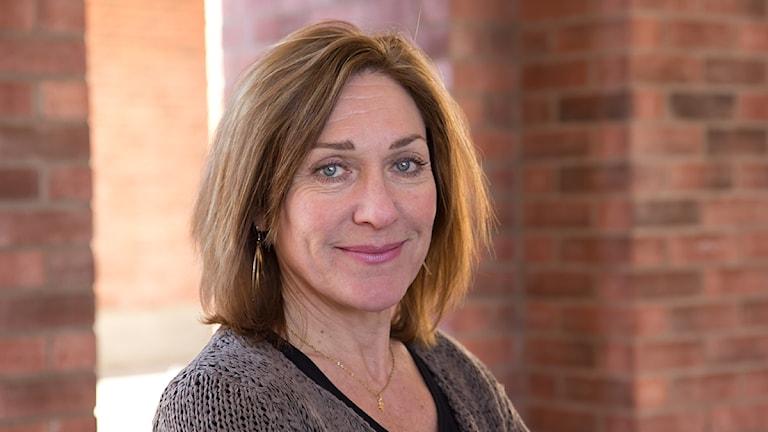 Monica Elfström. Foto: Michael Gawell/Sveriges Radio.