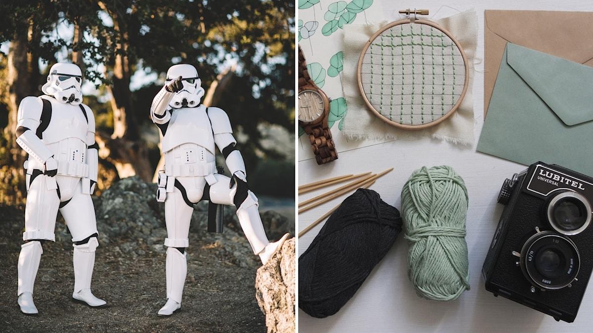 Stormtroopers och broderi