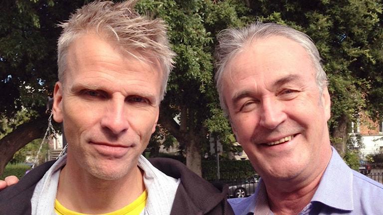 Christian Olsson och Ralf Edström.