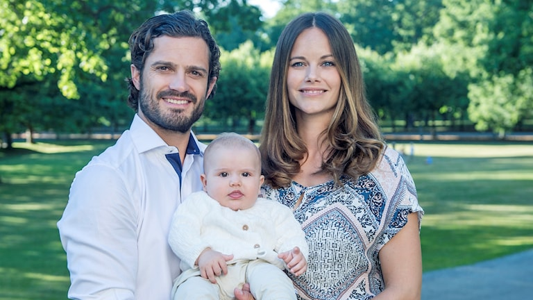 Prins Carl Philip, prinsessan Sophia och lillprins Alexander