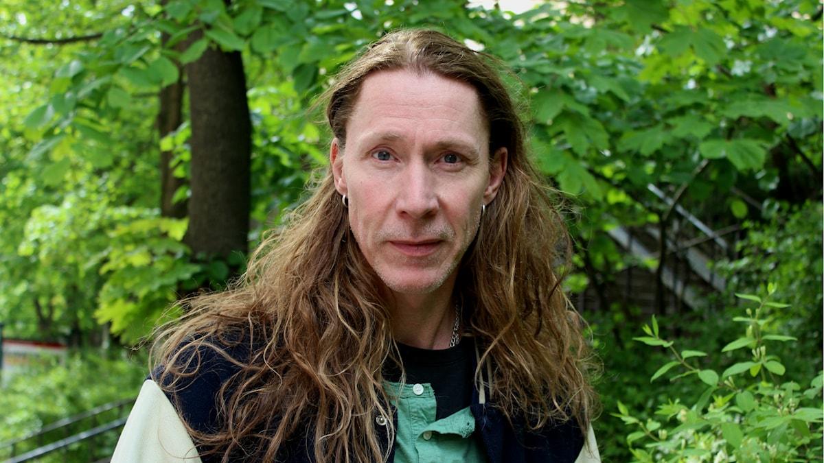 Martin Eriksson. Foto: Linda Aktén/Sveriges Radio