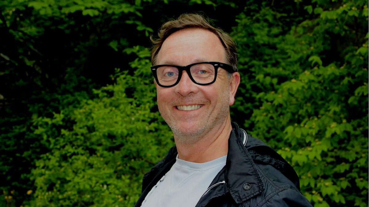 Claes-Johan Larsson. Foto: Linda Aktén/Sveriges Radio