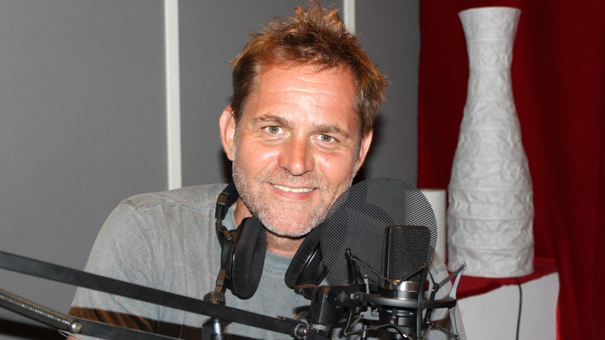 Rickard Olsson. Foto: Tina Mackic/Sveriges Radio