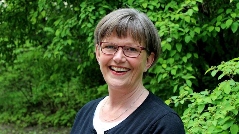 Katarina Hultling. Foto: Linda Aktén/Sveriges Radio