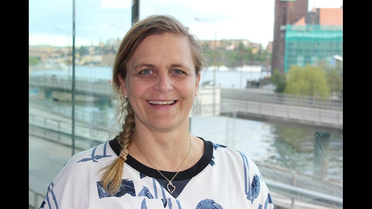 Tina Thörner. Foto: Åsa Karlsson/Sveriges Radio
