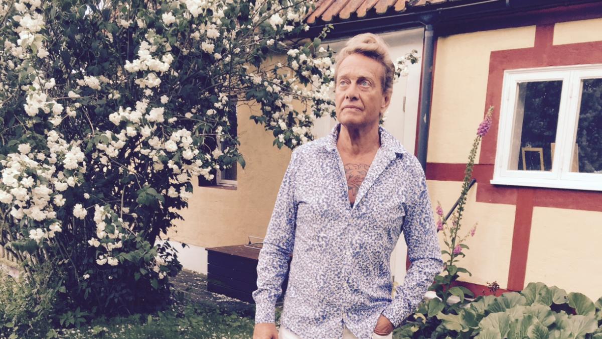 Kvällens värd Björn Ranelid