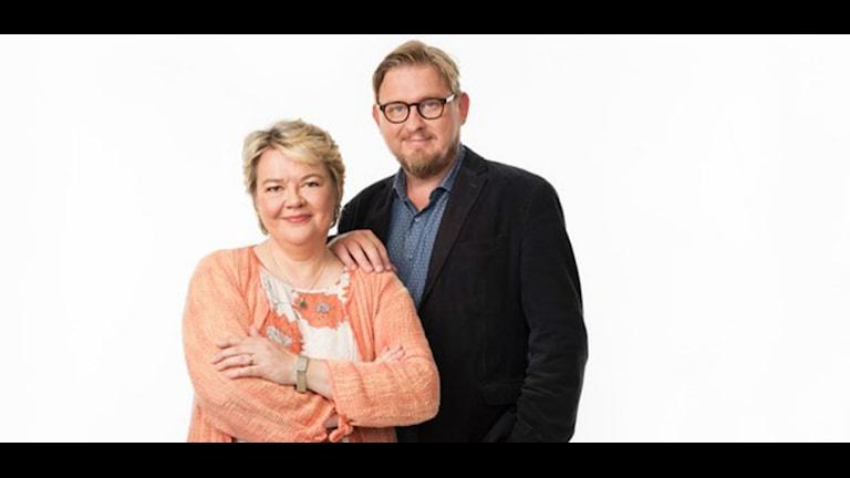 Fredrik Virtanen och Marjaana Kytö.